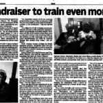 Fundraiser to train even more